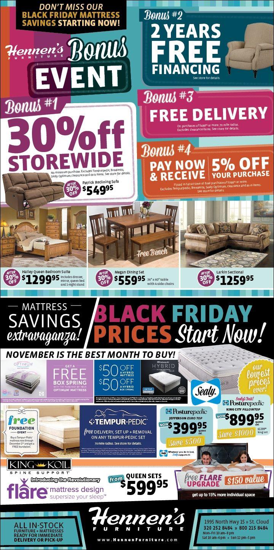 Hennenfurniture Minnesota Sale Blackfridayprices Black Friday Prices Storewide Shopping