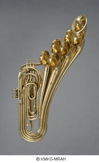 Seven Bells Six Valve Trombone This Would Make A Great Brooch If It Were Smaller Brass Instrument Brass Instruments Trumpets