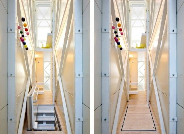 the worlds narrowest house is 60 inches wide warsaw poland 2012 by jakub szczesny - Smallest House In The World 2012 Inside