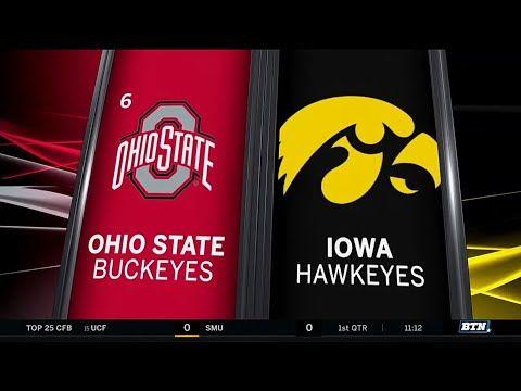 Ohio State at Iowa Highlights   Big Ten Football - YouTube ...