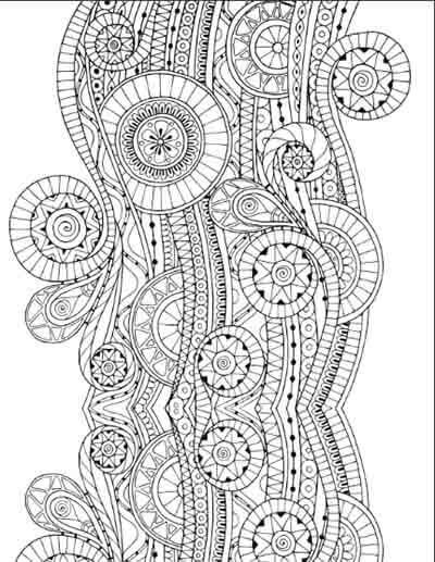 Pin For Later 20 Free Coloring Book Printables Complex Patterns A Pattern May Take You Couple Days To Complete And Its Totally Worth It