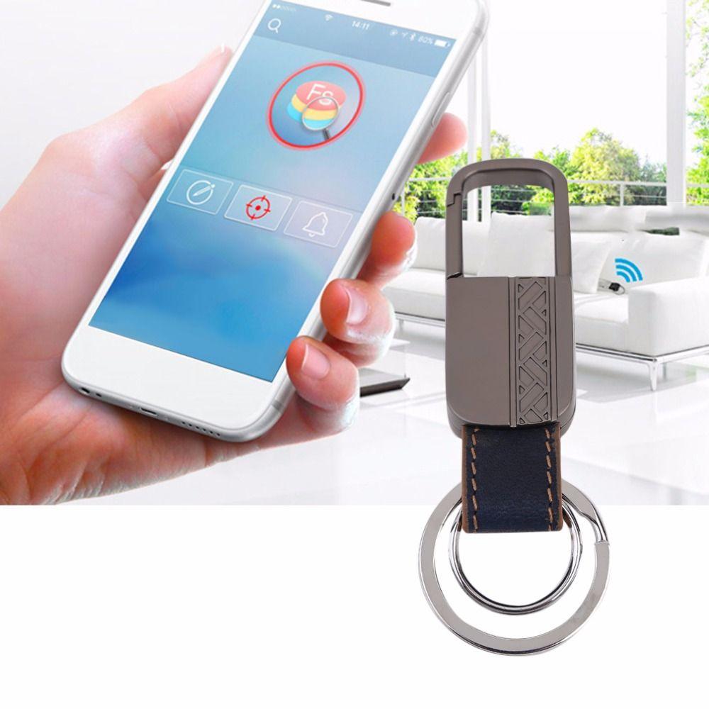 Mini Smart Gps Tracker Bluetooth Anti Lost Alarm Key Finder Locator Intelligent Keychain For Children Wallet Car Locating Key Finder Smart Key Gps Tracker