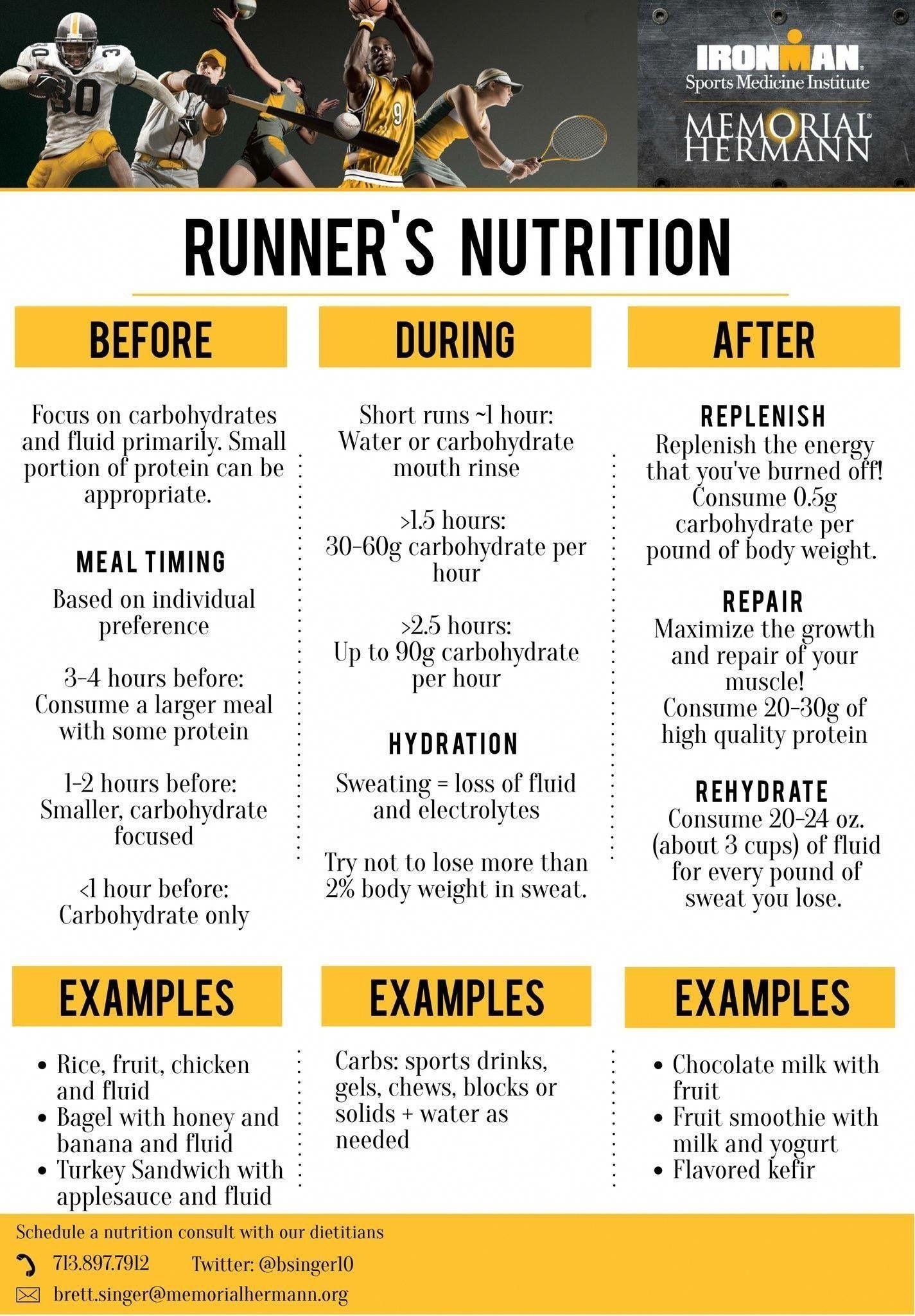 diet plan for half marathin