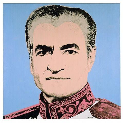 Andy Warhol: Mohammad Reza Shah Pahlavi (Shah of Iran)