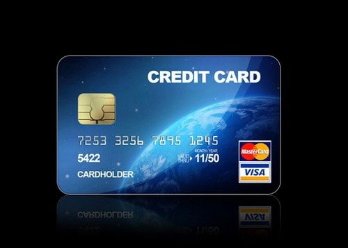credit card design google sgning