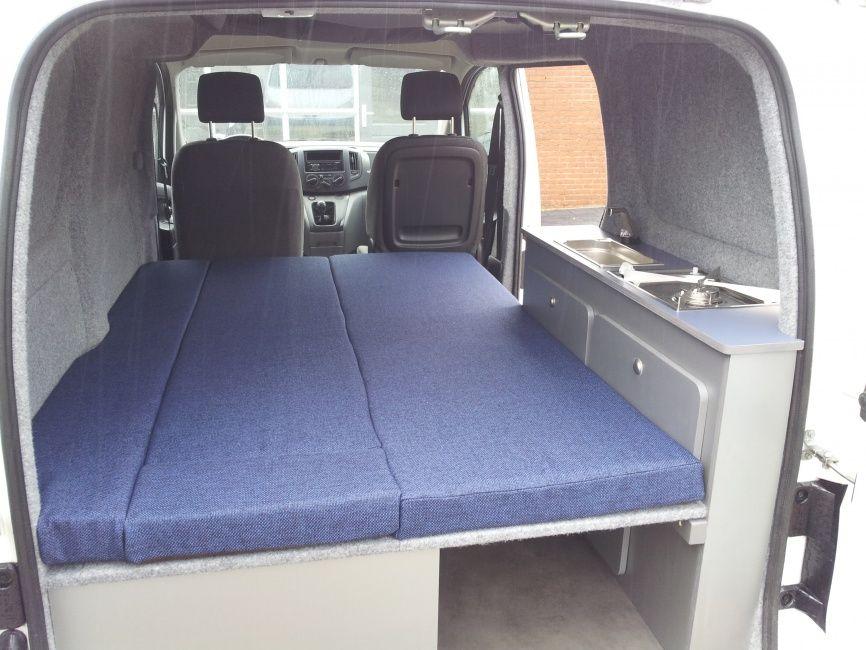 nissan nv200 minicamper motorhome campers caravan. Black Bedroom Furniture Sets. Home Design Ideas