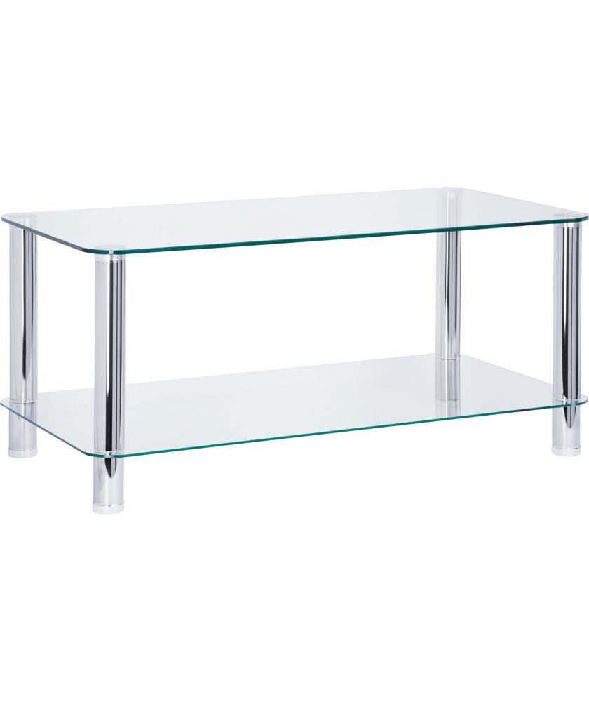 Buy argos home matrix coffee table clear glass coffee