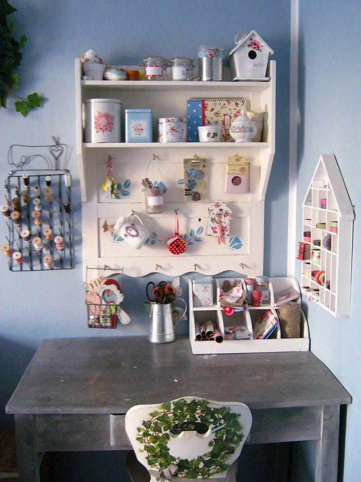Craft Station Room Storage Ideas