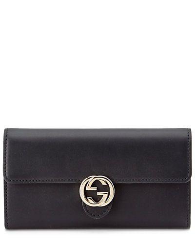 Rue La La — Gucci Icon Leather Continental Wallet