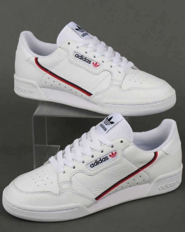 the best attitude 3ac3b 44e45 Adidas Continental 80 White Sneaker