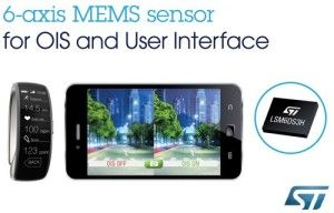 LSM6DS3H  New 6-axis motion sensor from STMicroelectronics