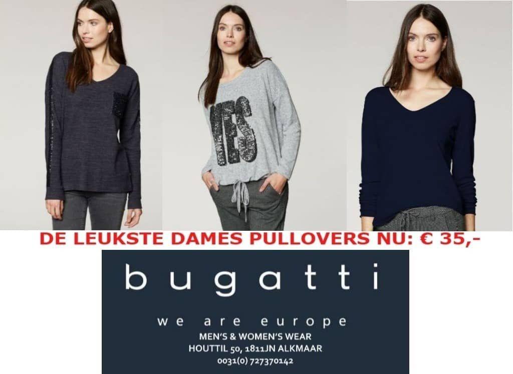aff4c1e9ef7 Lokaal zoeken♻ Nu 50% korting op de Bugatti dames pullovers! 👍🏼