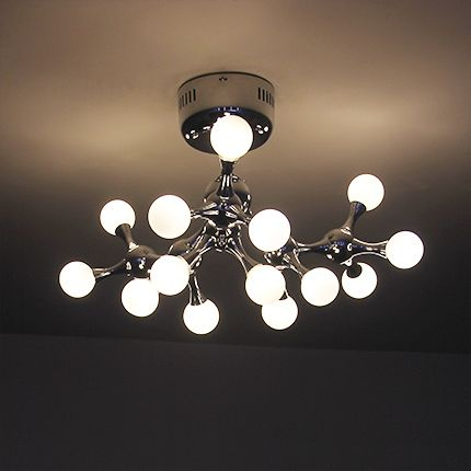 Perfect Find More Ceiling Lights Information About Modern Brief DNA Molecules Style  Ceiling Light Chrome White Abstract
