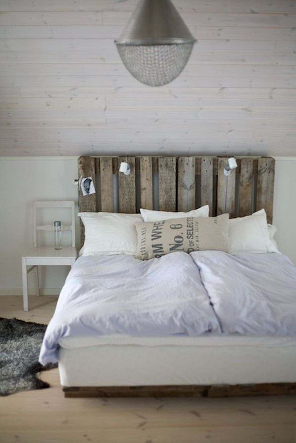 30 Fancy Diy Ideas To Make Bed Place From Pallet Project Pallet