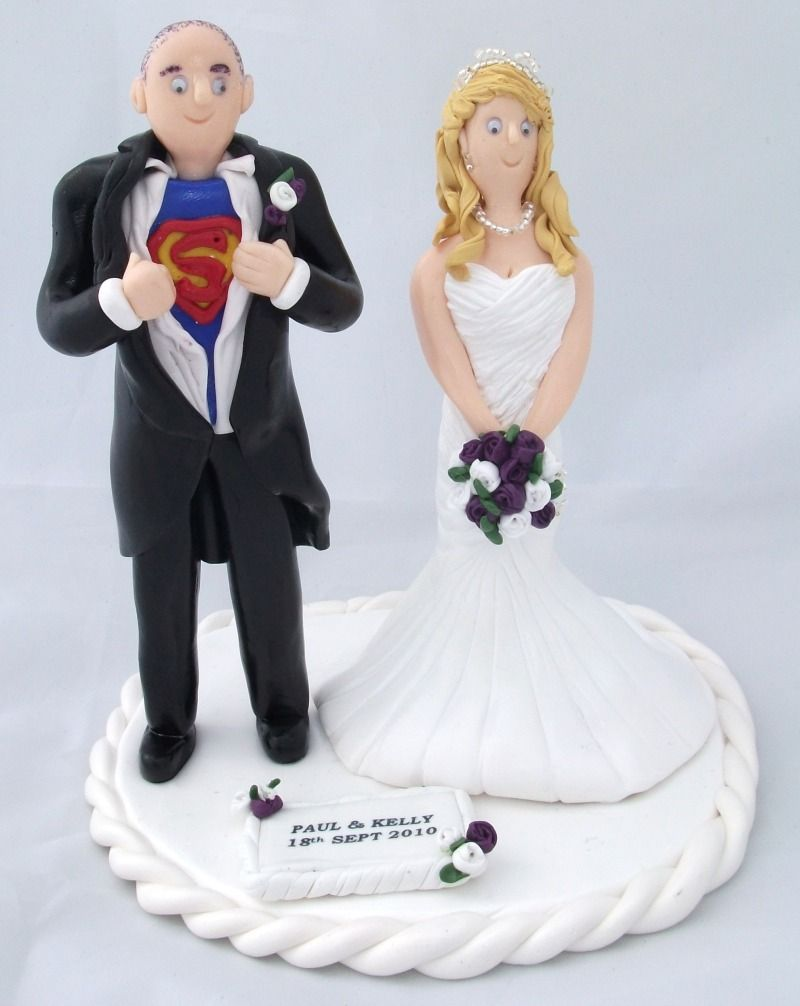 CAKE TOPPERS FOR WEDDING CAKES Want one of these? Get in ...