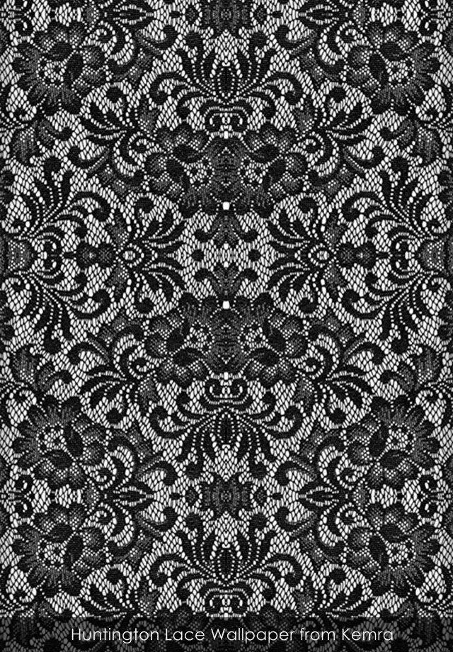 Huntington Lace wallpaper from Kemra