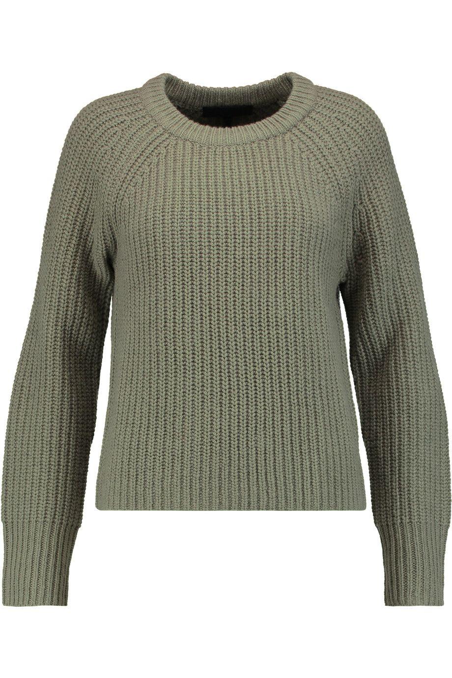 RAG & BONE Bonnie ribbed-knit merino wool sweater. #ragbone #cloth ...