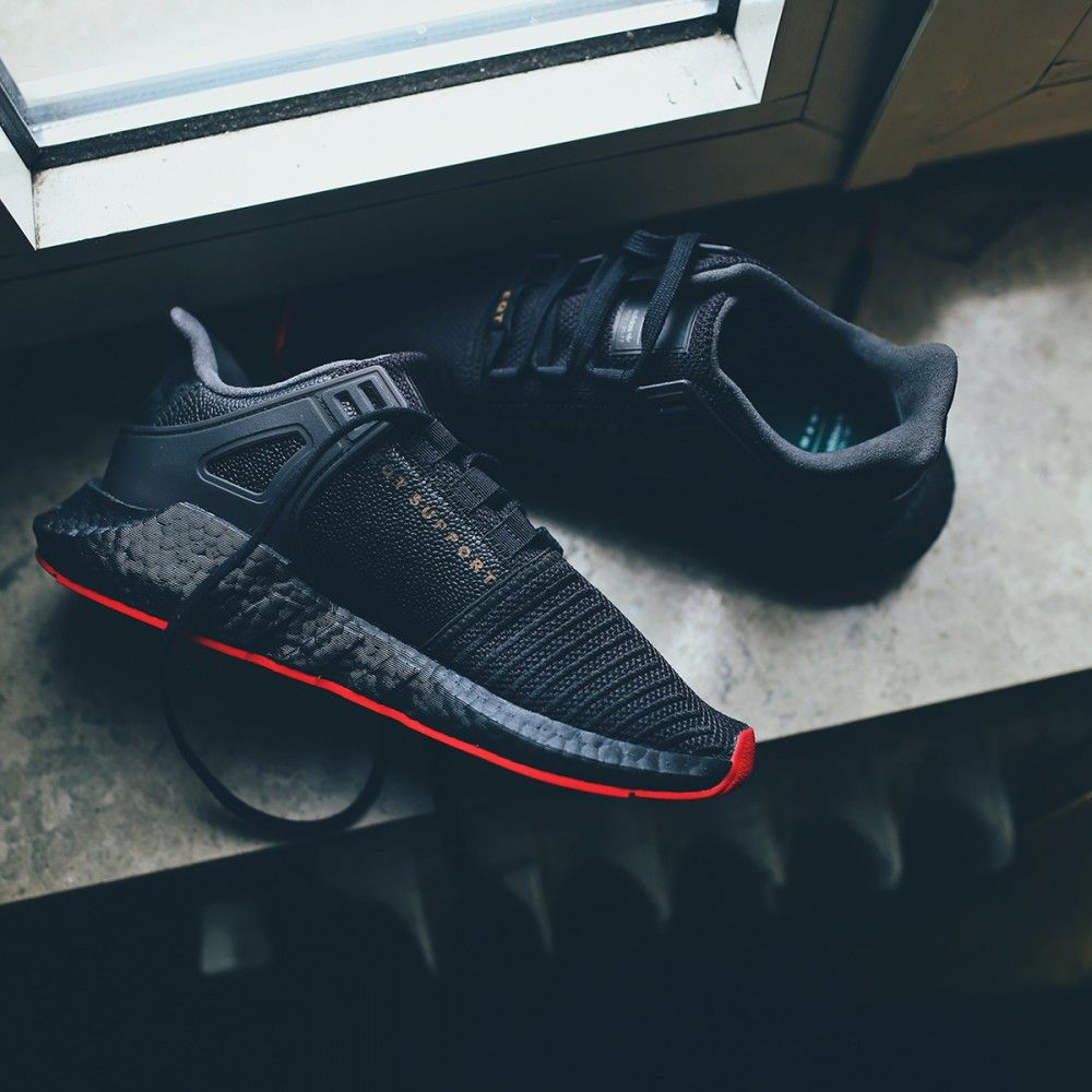 99679c3b7a5 adidas Originals EQT Equipment Support 93 17 Boost  Red Carpet Pack   (schwarz   rot) - Versandkostenfrei ab 75€ - thegoodwillout.com