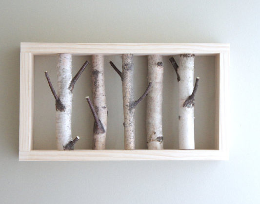 Sweet Lil Coat Rack Forest Wall Art Art Shelves Rustic Wall Decor