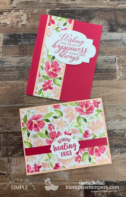 Photo of Card Making Layout You'll Use Over and Over