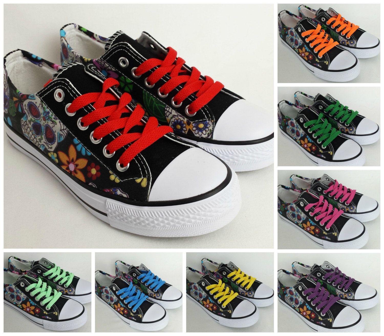 a5ea3bf580641 Shoe laces, multi color shoelaces, choose from 16 colors, converse ...
