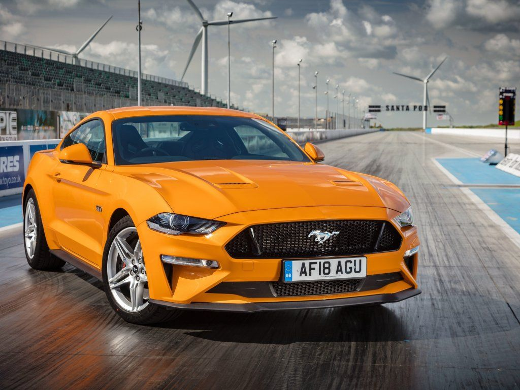 Ford Mustang Gt Fastback Yellow Front 2018 Wallpaper Ford Mustang Gt Mustang Cars Yellow Mustang