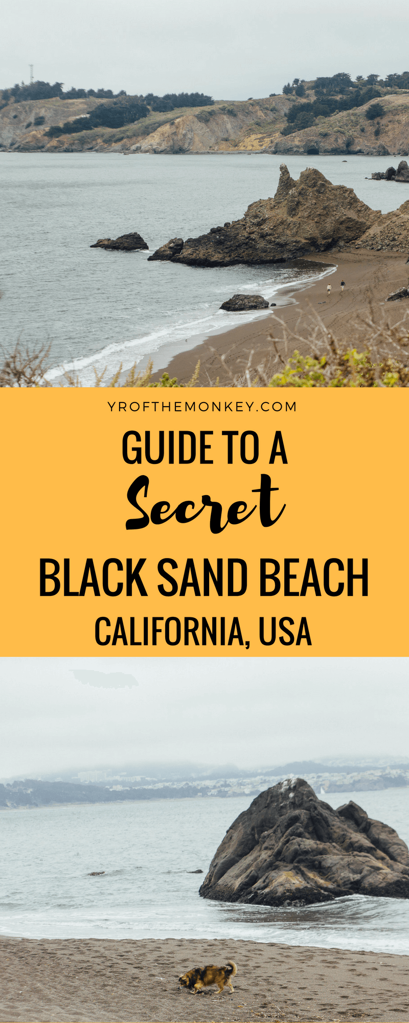 Black Sands Beach Sausalito Hike To A Secret Beach Near San