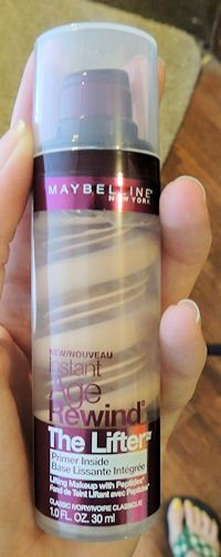 Review of Maybelline foundation, Rimmel eyeshadow, Revlon Colorstay lipstick, Maybelline makeup remover, Yes to Cucumbers towelettes, Revlon mascara. Only two winners in this bunch!