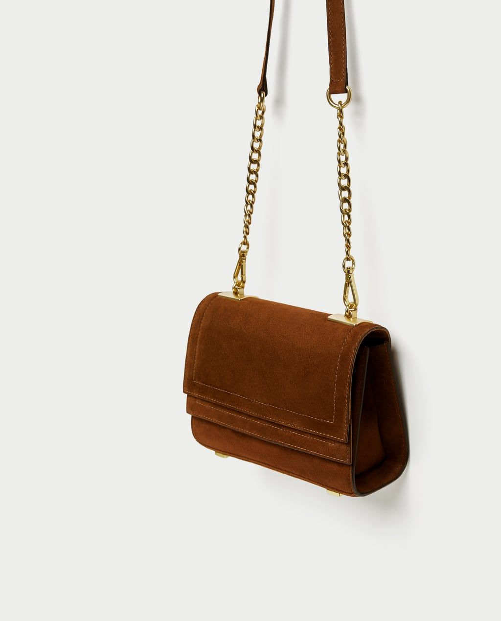 9044b268d4b Image 4 of LEATHER CROSSBODY BAG from Zara | Wishlist in 2019 ...