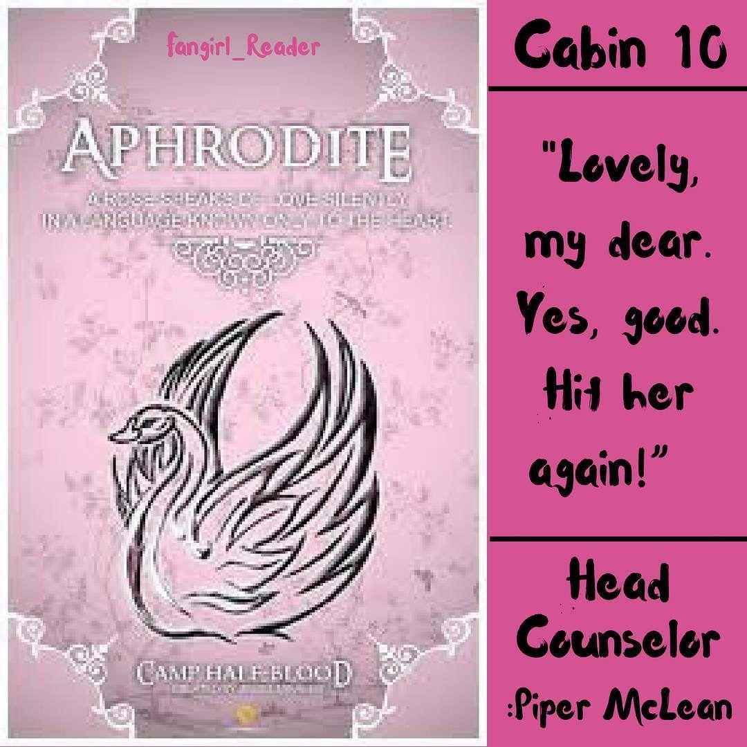 Pin on Cabin 10 ️ Aphrodite