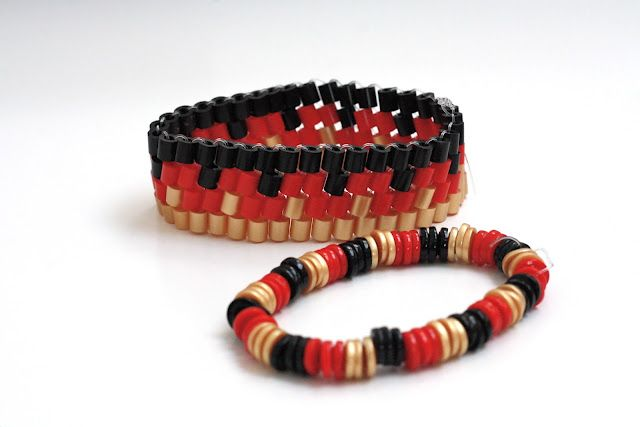 Armbänder aus Bügelperlen