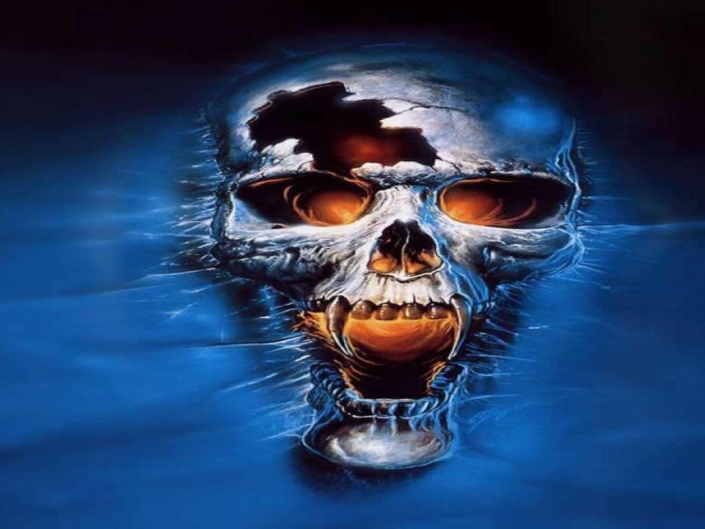 Cool Skull | Free Cool Skull For Iphone HD Wallpaper | skulls | Skull wallpaper, Vampire skull ...