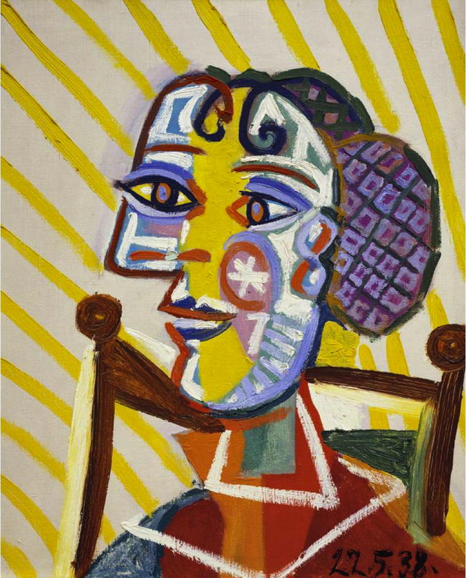 Exploring Art: Elementary Art: 5th Grade Picasso Cubism Portraits ...