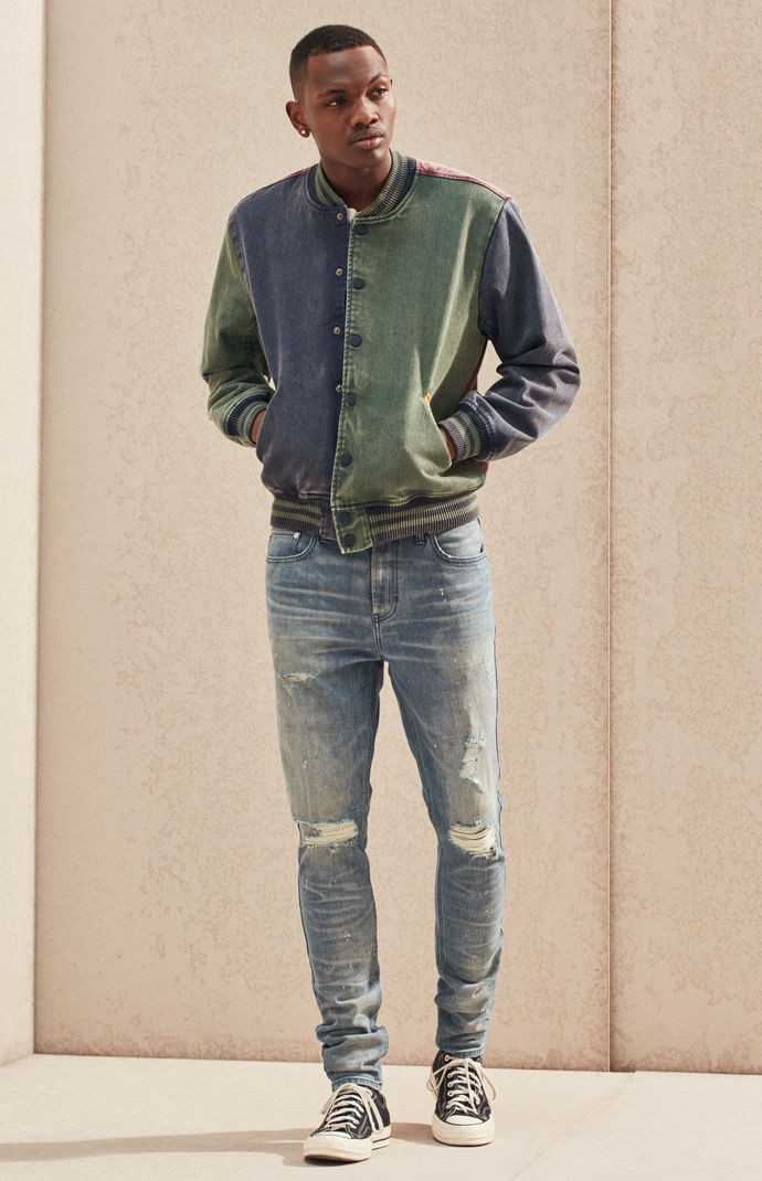 PacSun Light Stacked Skinny Jeans | PacSun