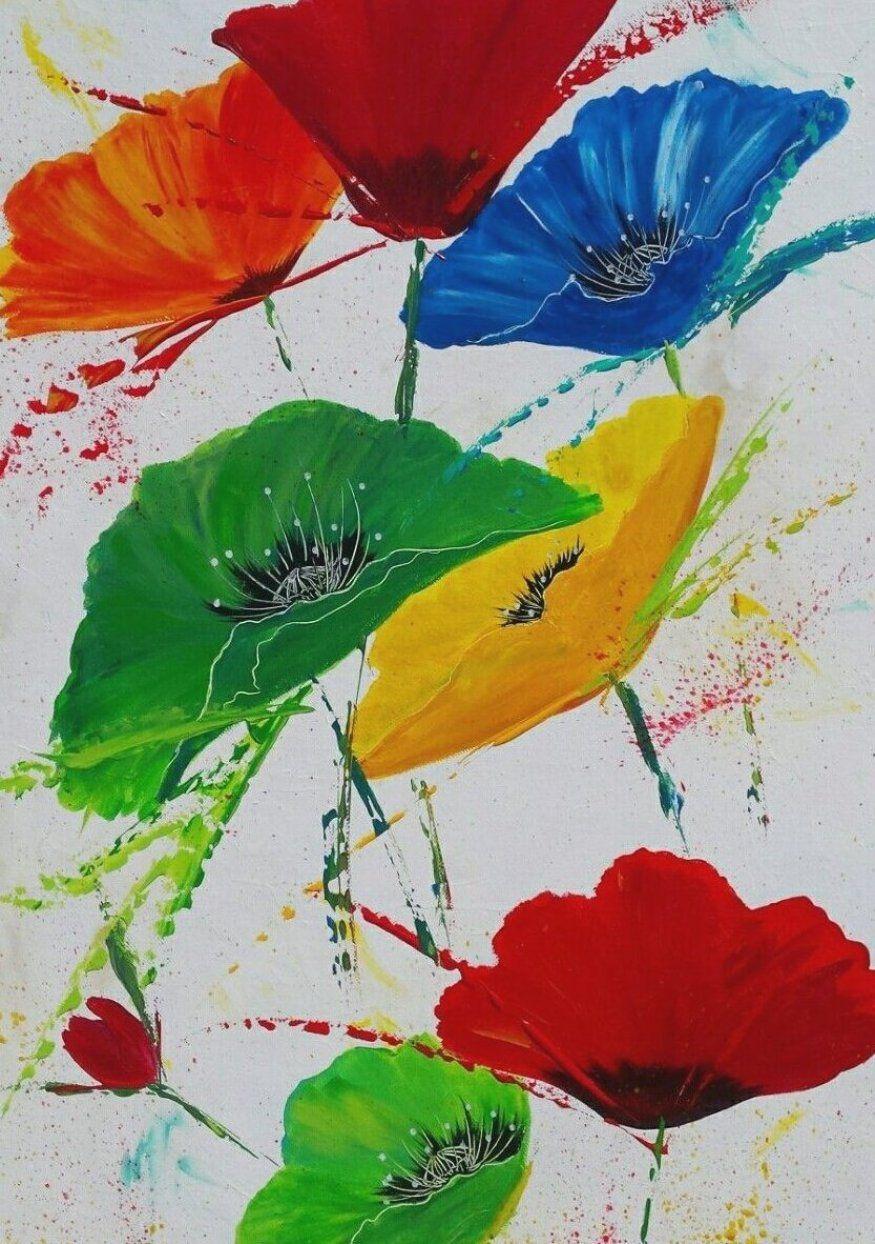 Flower Flowers Watercolour Watercolor Watercolorart