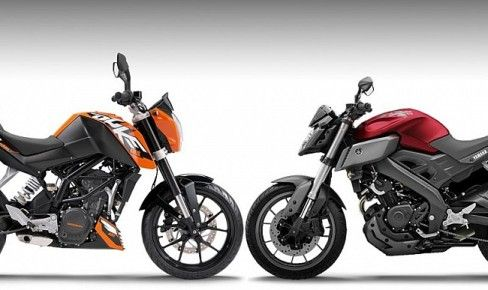 ktm 125 duke vs yamaha mt-125 | #ku ada? | pinterest | ktm 125