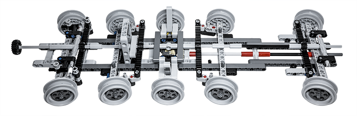 Lego Technic Building Tip Multiple Axle Steering Lego Building