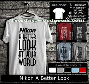 Kaos Nikon Indonesia: Kaos Nikon Contest, Kaos Nikon Owner