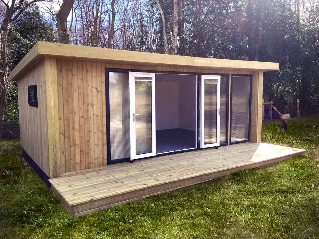 6m x 3m Expression. A beautiful garden room with a set of