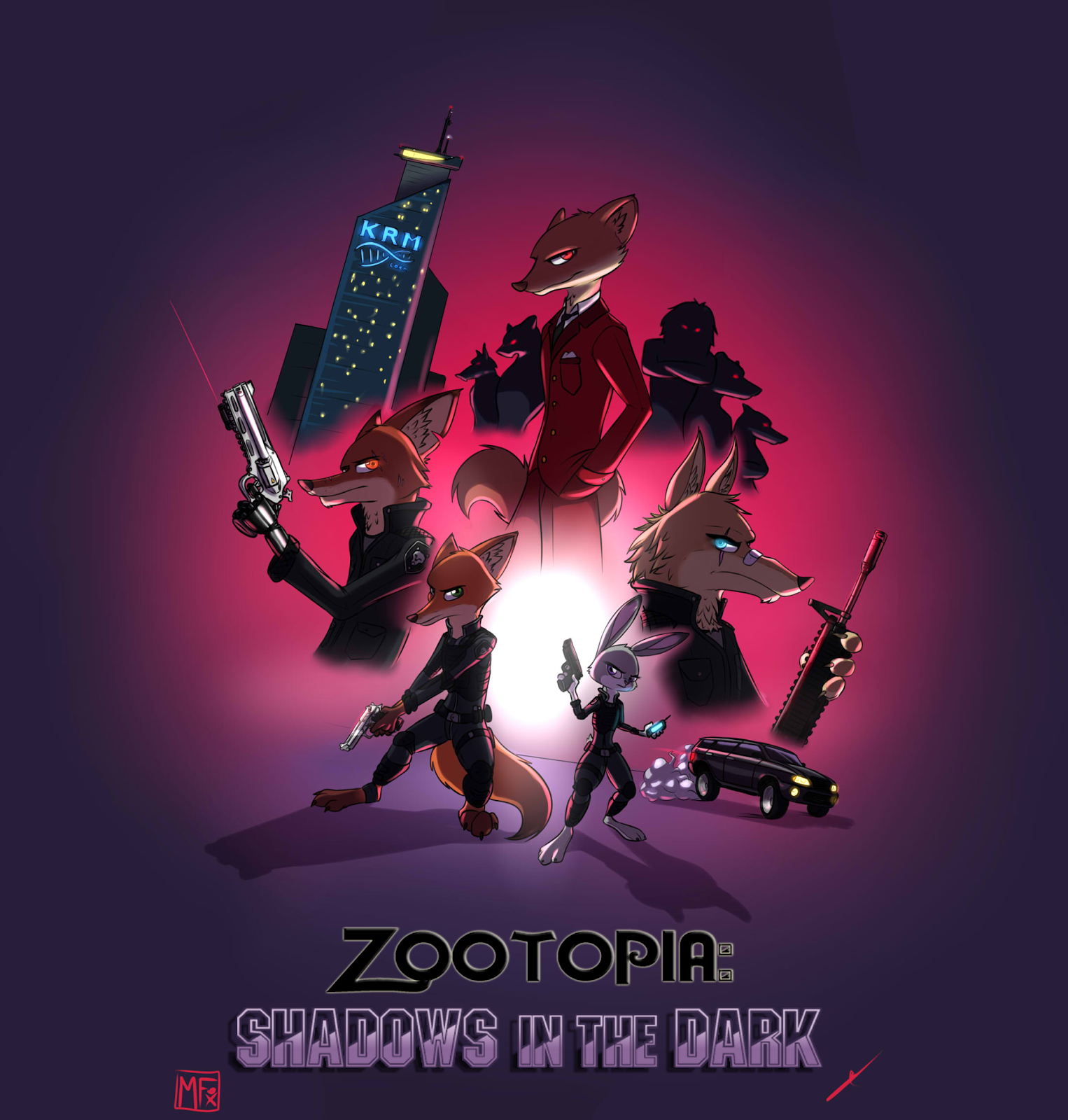 Zootopia Fanfic: Story- Zootopia: Shadows In The Dark