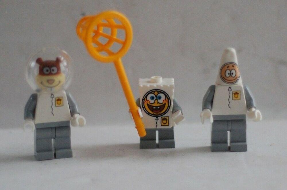 LEGO SPONGEBOB SQUAREPANTS ASTRONAUT MINI FIGURE