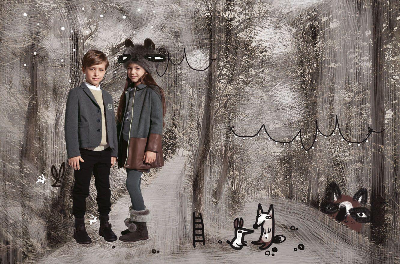 Fendi KIDS Fall/Winter 2013/14 Advertising Campaign
