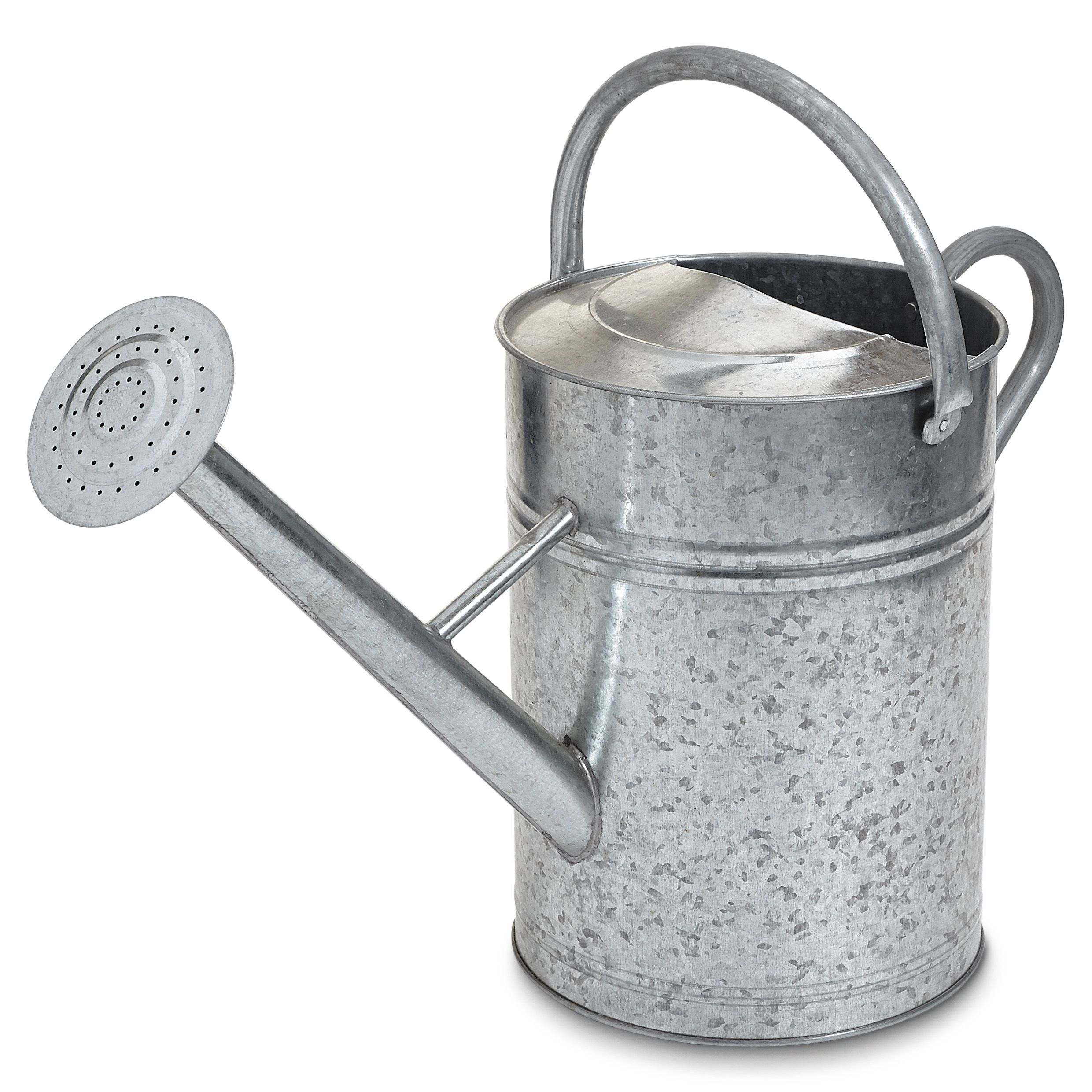 B Q S Large Galvanised Steel Watering Can Is Perfect For Bigger