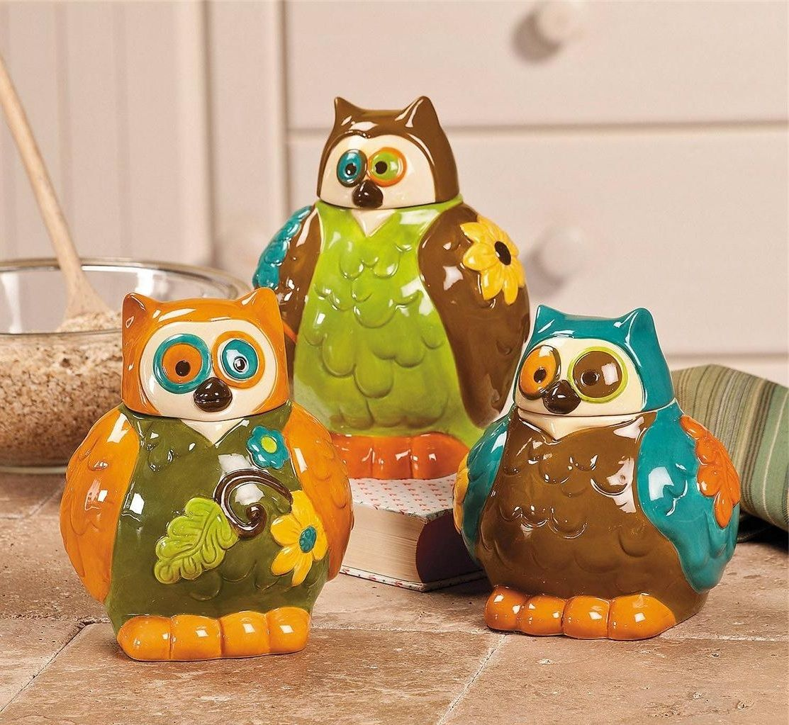 Inspiring owl kitchen decor