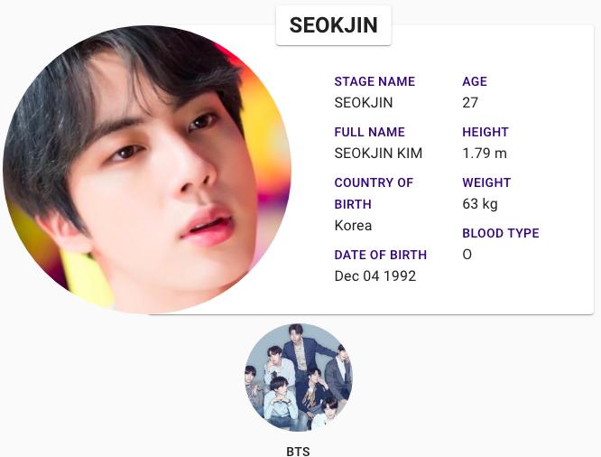 Seokjin Bts Profile Bts Weight Bts Seokjin Bts