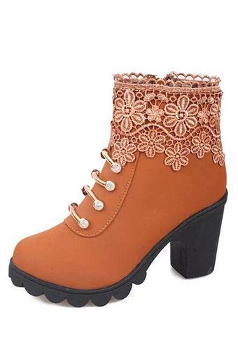 acheter des bottes à à bottes talons de bottines jaunes des femmes prennent en ligne 305f9a