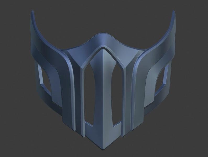 Sub Zero Ninja Mask From Mortal Kombat 9 X 10 11 3d Model Etsy In 2021 Ninja Mask Mortal Kombat Mortal Kombat 9