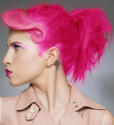 Hayley Paramore Pink Hair Hair Color Light Pink Hair Rainbow Hair Color