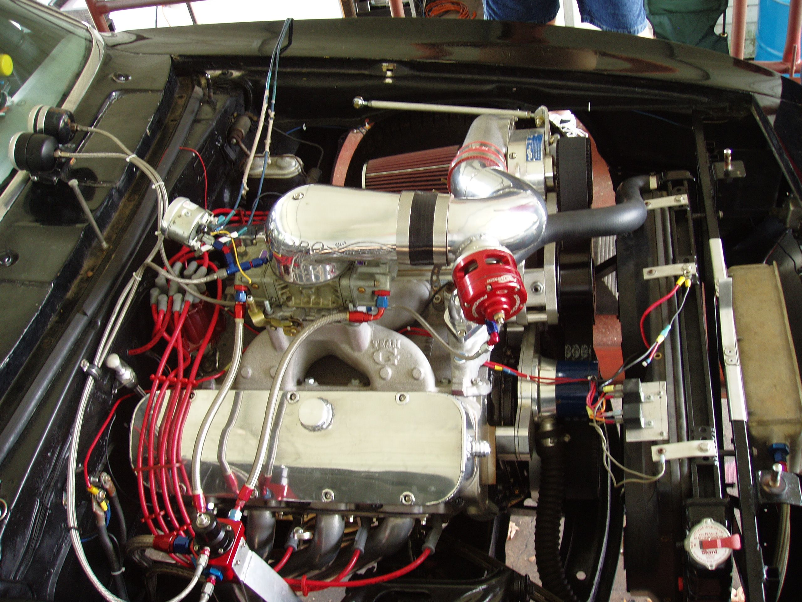 Rollins Automotive shop 1967 Chevrolet Camaro, powered by a
