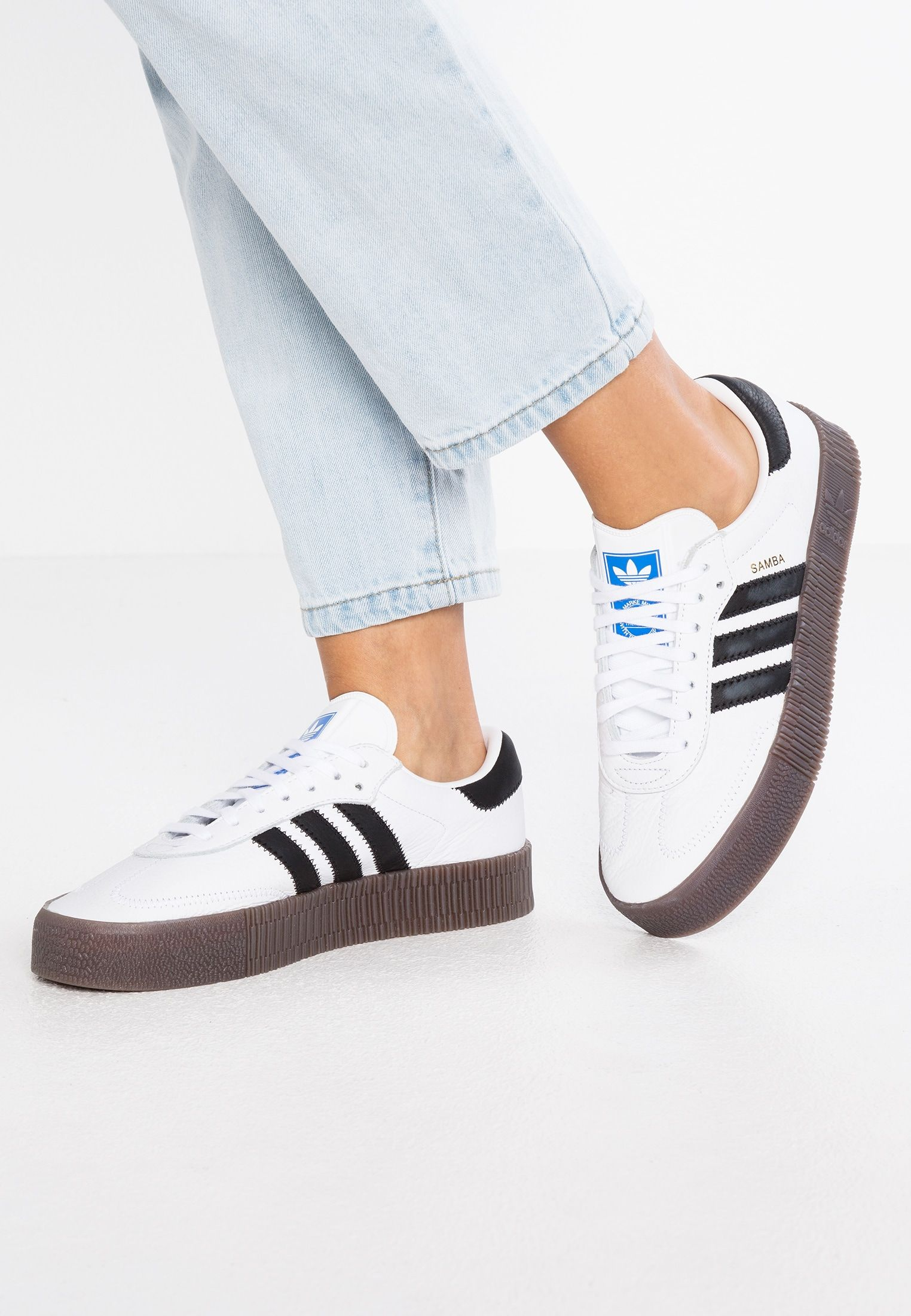 hot sale online 8c8bb 818ab adidas Originals SAMBAROSE - Sneakers - footwear white core black - Zalando .se